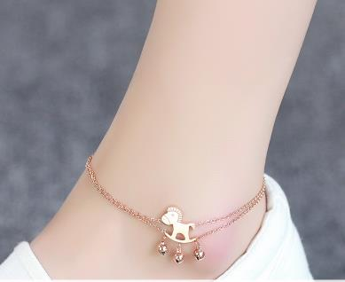 2016 hot Silver Anklets Heart Key Foot Bracelet Ankle Chain Women,Fashion gift/ tornozeleira best selling 925 jewelry(China (Mainland))