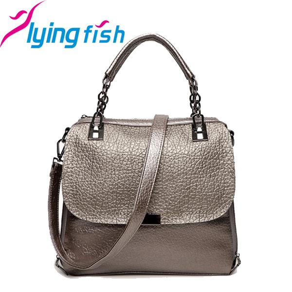 Фотография New 2015 England Style Tote Women Celebrity Luxury Crossbody Bag Genuine Leather Cowhide Handbags Ladies Shoulder Bags pc094