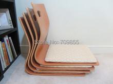 (4pcs/lot)Japanese Tatami Zaisu Chair for Living Room Furniture Natural Color Fan Shape Kotatsu Table Chair Tatami Legless Zaisu(China (Mainland))
