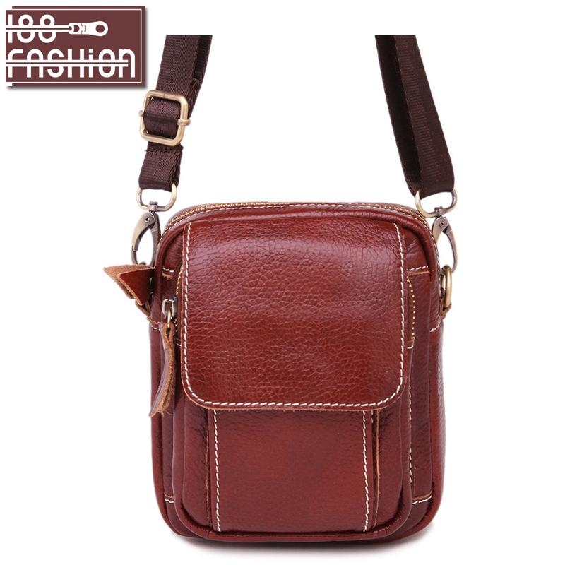 New Arrival Men Messenger Bags Genuine Leather Men Small Bag Fashion Men Crossbody Shoulder Bags HB-462(China (Mainland))