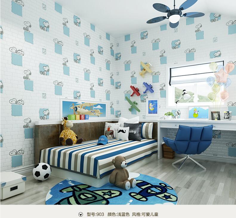 Bonito crian as espuma tijolo papel de parede n o tecido for Sala de estar kawaii