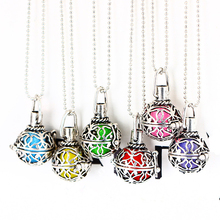 Buy Aromatherapy Necklace Women Aroma Perfume diffuser Locket Pendant Necklace Essential Oil diffuser necklace for $1.47 in AliExpress store