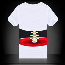 Buy Summer Men's T-shirt 3D Short Sleeve Funny Tops Big Hand Printed Fashion Brand Cotton Slim Men Tops Tees Shirts Men for $3.33 in AliExpress store
