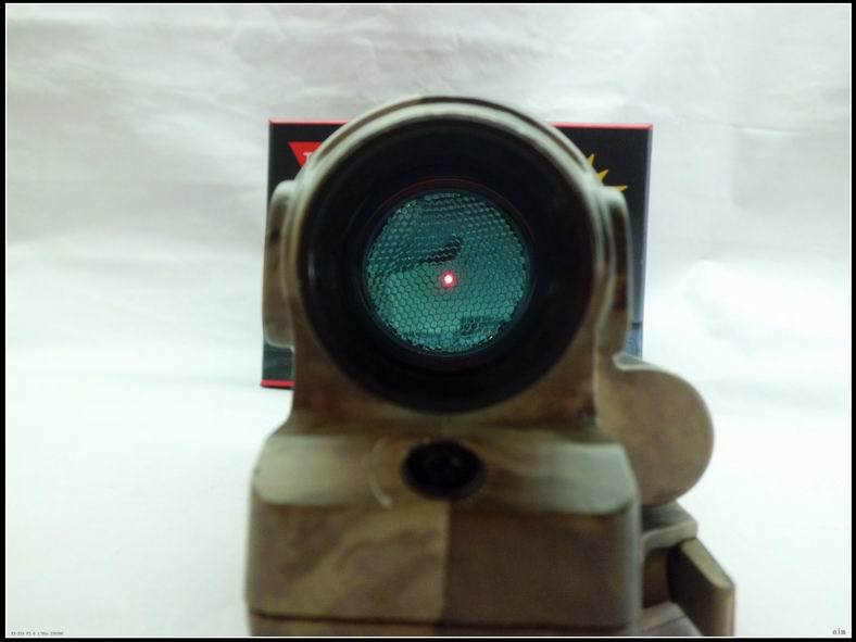 Tactical Hunting Shooting New arrival Solar Power System Trijicon SRS Red Dot Sight With QD Mount