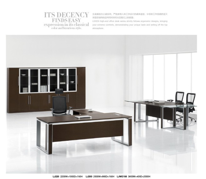 MELAMINE SERIES HIGH END OFFICE DESK in Wood Tables from