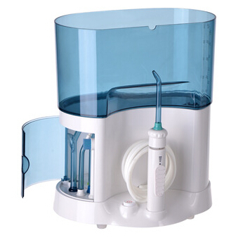Hot sale Waterproof Oral Irrigator with1600ML water tank Water pick Dental Water Jet Oral Spray Dental Floss for Household Use(China (Mainland))