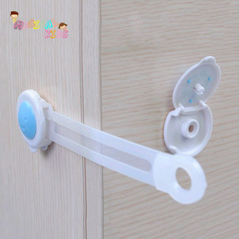 12pcs/lot Fridge Cabinet Drawer Locks Cabinet Lock Child Kids Safety Care New Design Delicate Baby Safety Security(China (Mainland))