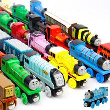 Wooden toys thomas train Magnetic thomas and friends Edward James Wooden Model Train vehicle Great Christmas Toys - 6pcs/lot(China (Mainland))