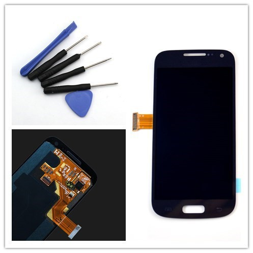 New Tested For Samsung Galaxy S4 mini i9195 i9190 LCD Display + Touch Screen Digitizer + Open Tools , Blue Free shipping !!!