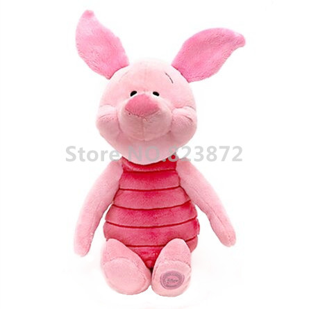 Piglet Pig Plush Toy Stuffed Animals Large 40cm 16'' WinniethePooh Cute Soft Doll Kids Toys for Children Gifts(China (Mainland))