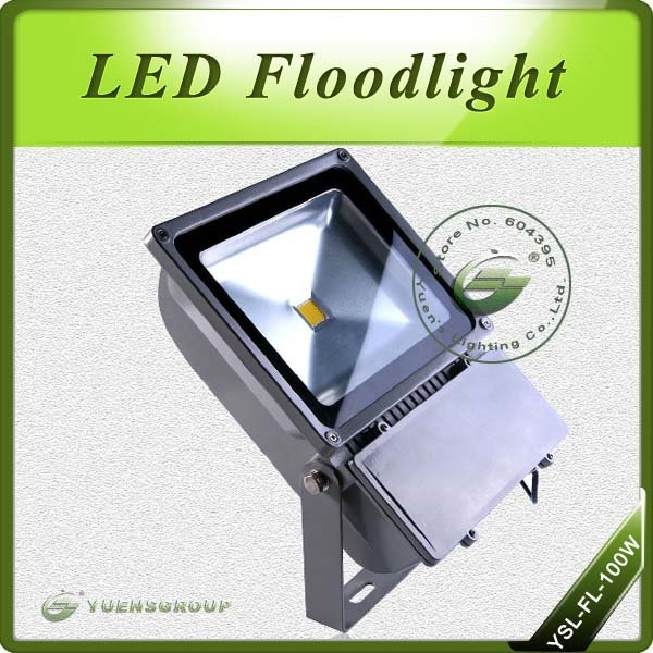 100W Projector Outdoor Landscape LED Flood Lighting Warm White/White