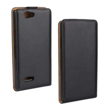 New Hot Fashion Design Real PU Leather Filp up and down Phone Case For ZTE Blade L2 With Card Slot Free Shipping