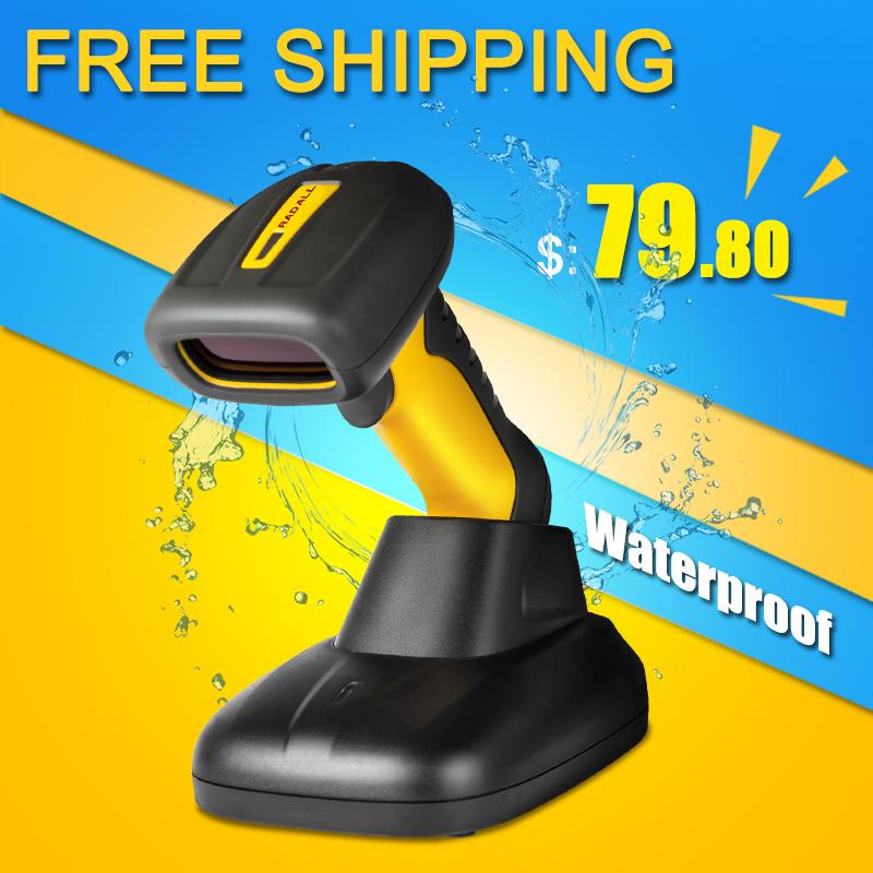 waterproof automatic barcode scanner Handheld Laser Barcode Scanner  industrial scanner auto scanning NT-1208<br><br>Aliexpress