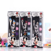 2015 New cartoon mouse with duck in-ear earphones stereo headphones 3.5mm jake headset  for iphone 4 4s 5s  Samsung Galaxy