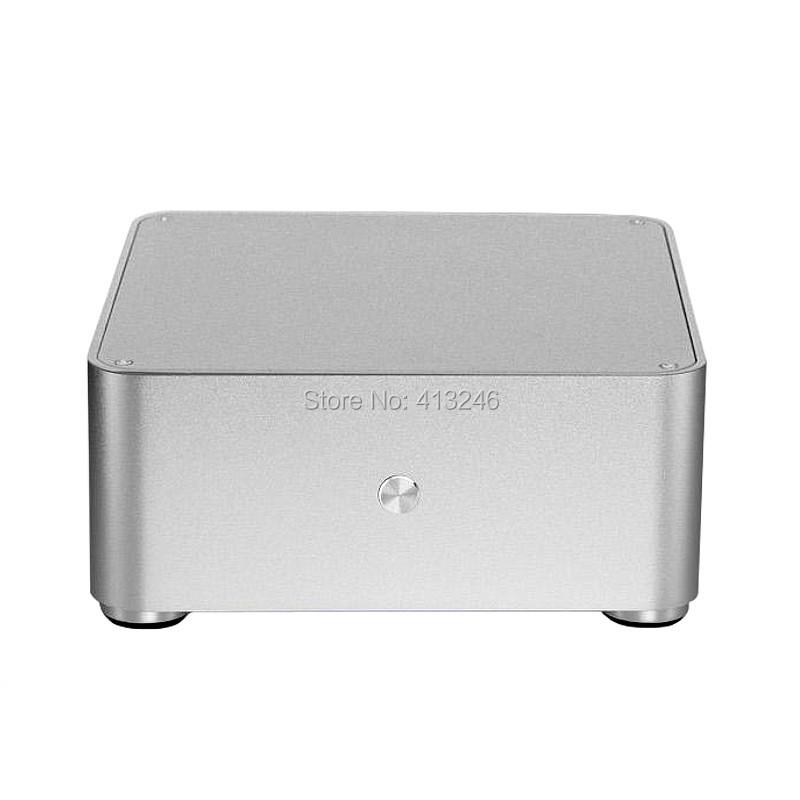 Mini ITX Case Aluminum HTPC Computer Case W80 Model Support WIFI COM(China (Mainland))