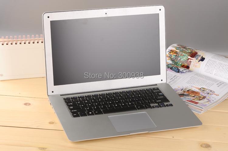 Free shipping 14 inch laptop computer brand new 2GB RAM 320GB HDD Dual Core Intel N2600/D2500 HDMI WiFi Windows7 laptop 14inch(Hong Kong)