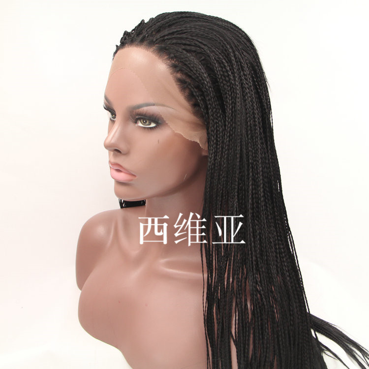 how to add lace front to synthetic wig