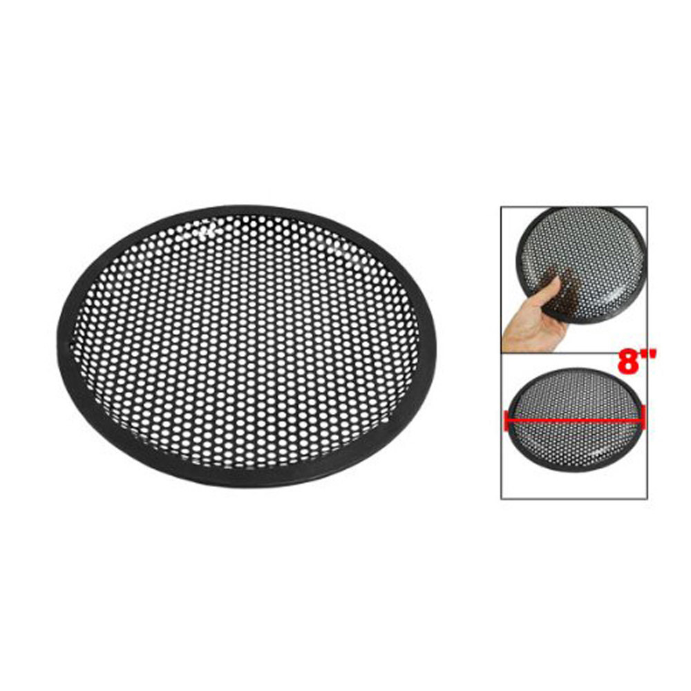 USA Delivery Universal 8 Inch Subwoofer Speaker Metal Waffle Cover Guard Grill(China (Mainland))