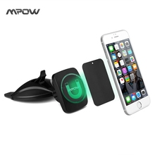 Mpow CD Slot Car Mount Magnetic Car Phone Holder GPS Holder for iPhone 6s/ 6 plus Samsung Galaxy S7/S6 edge and universal Phone(China (Mainland))