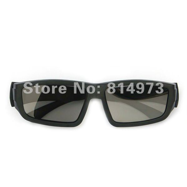 Whosales 7/lot Cheap Circular Polarized Passive 3D Glasses for Real D 3D 4D Cinemas and Passive 3D TV China Post Free Shipping