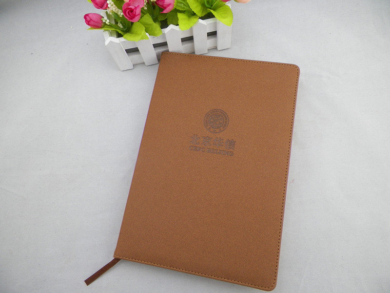 Leather notebook advanced commercial the skin notepad notebook the leather customize logo(China (Mainland))