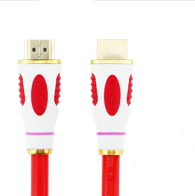 1M,1.5M,3M,5M High speed Gold Plated Plug Male-Male HDMI Cable 2.0 Version 4K adapter(China (Mainland))