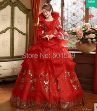 Medieval Renaissance Gown fire queen red fan collar dress wedding Costume Victorian Gothic Marie Antoinette Colonial Belle Ball