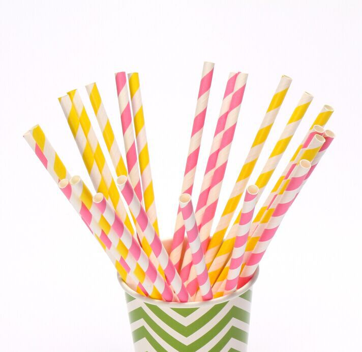 100pcs & 235 color Drinking Paper Straws chevron Stripe Polka Dot Star Heart Cow Flower Party Decoration(China (Mainland))