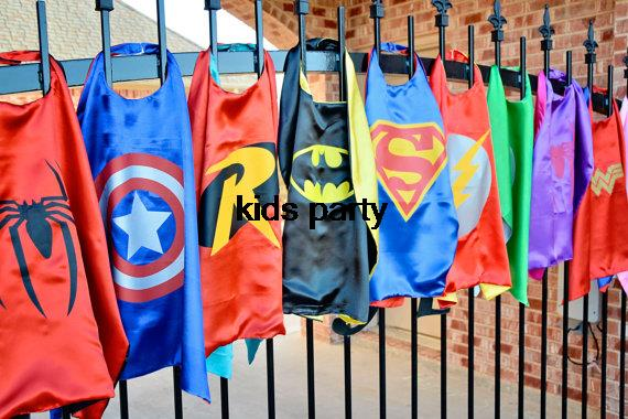 Superhero Cape - 500pcs Superman, Batman, Spiderman,  elsa, Flash, Supergirl, Batgirl, Robin, kids capes,children costume bulk