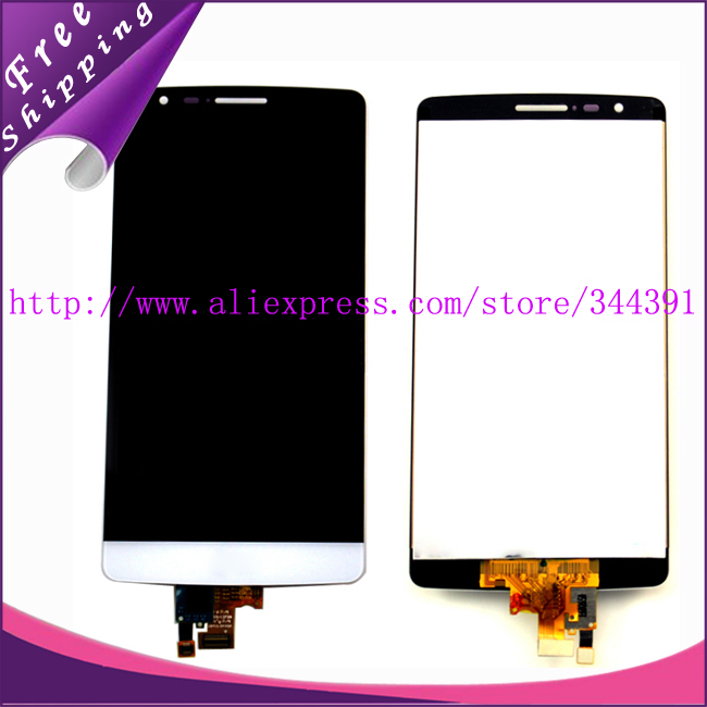 10pcs/lot tested Original For LG Optimus G3 mini D722 D724 Lcd Display Screen with Touch Digitizer Assembly Free Shipping