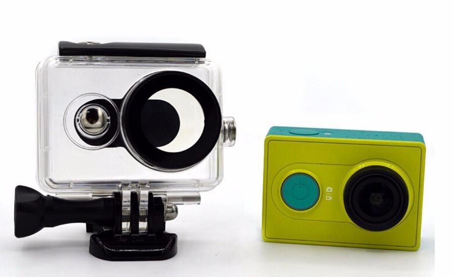IN STOCK! Xiaomi Xiaoyi Yi Action Camera Waterproof Case Diving 40m sport box Sport Cameras Box Accessories - Black scorpions store