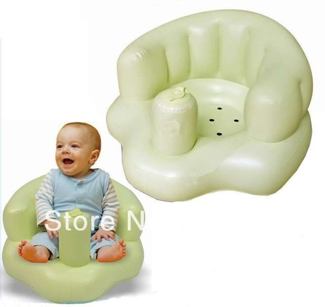 Built In Air Pump Inflatable Baby Bath Chair Multifunction