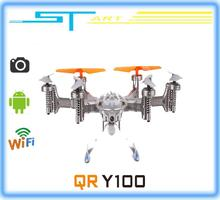 2014 New Walkera QR Y100 FPV Wifi Aircraft UFO RC Quadcopter Drone helicopter with camera brushless motor VS dji phanto toy gift