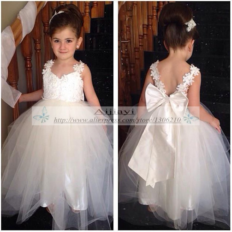 Custom Flower Girl Dresses - RP Dress