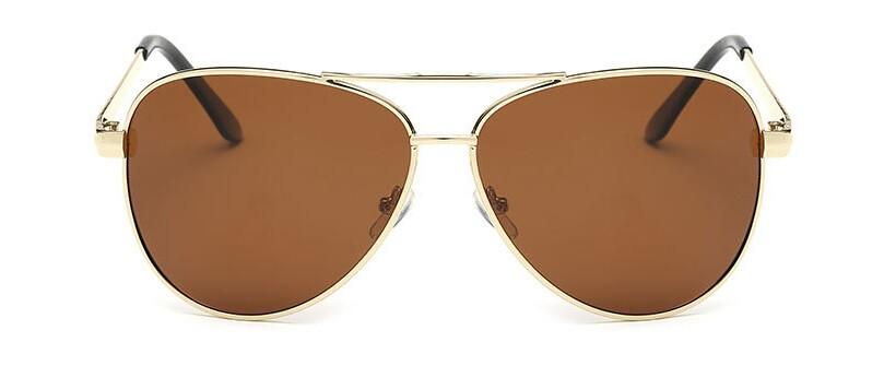 Adofeeno Sunglasses Men  Metal Frame Drivers Mirror Eyewear Fashion  Goggle UV Protection Sun glasses