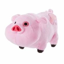 Hot 1 Piece 20cm Cartoon TV Kawaii Gravity Falls Pink Pig Waddles Plush Soft Toys Stuffed Animals Dolls brinquedos Children Gift(China (Mainland))