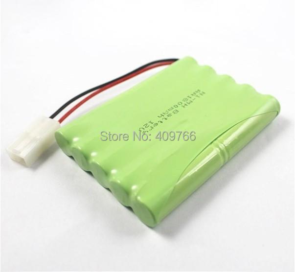 AA 12V 1800MAH Ni-MH Rechargable Battery Batteries Pack - r store
