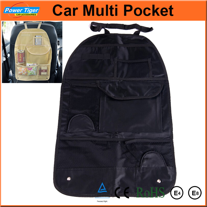 auto car interior accessories waterproof car multi pocket storage bag organizer arrangement bag. Black Bedroom Furniture Sets. Home Design Ideas