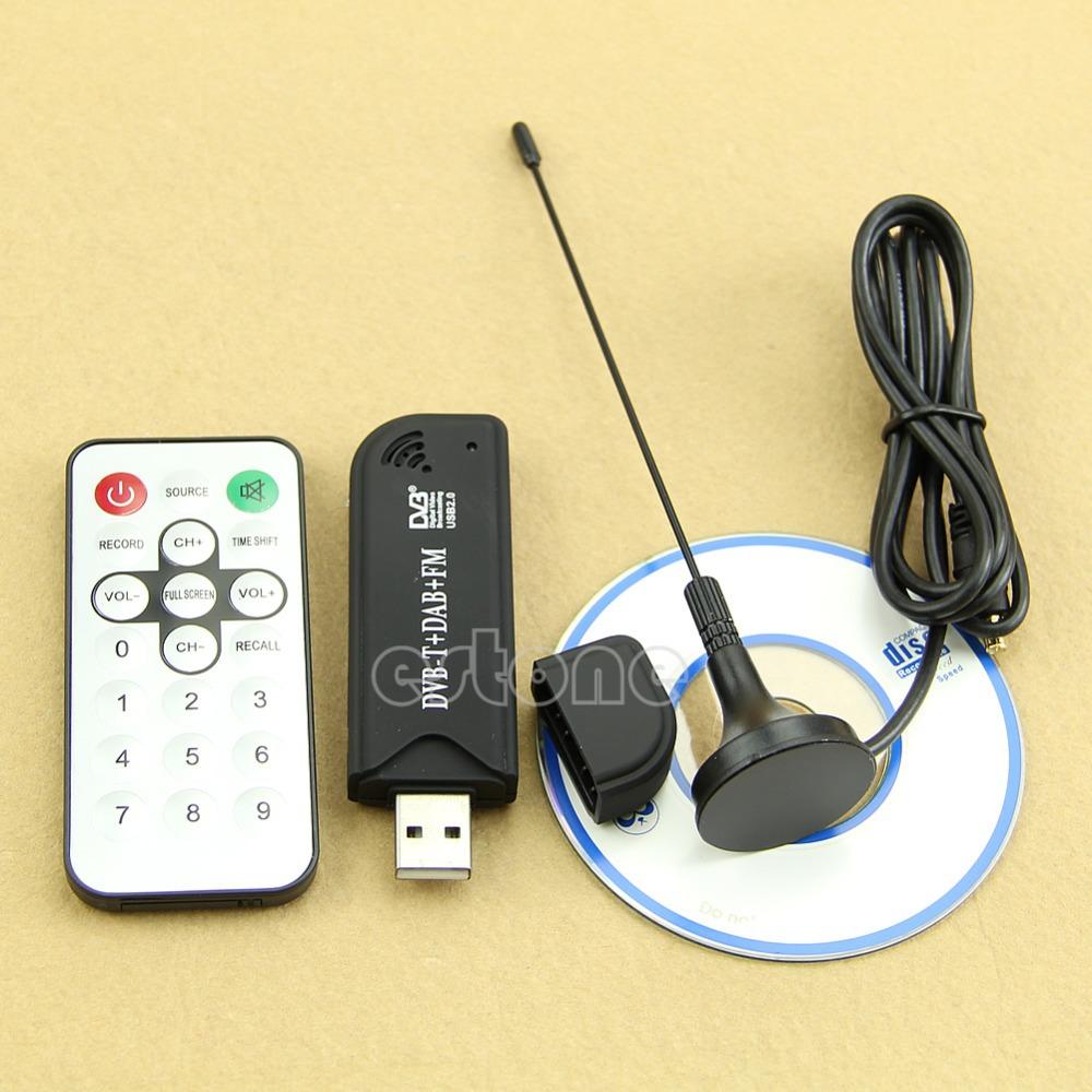 Гаджет  Hot! RTL2832U+R820T USB2.0 Digital DVB-T SDR+DAB+FM HDTV TV Tuner Receiver Stick None Бытовая электроника
