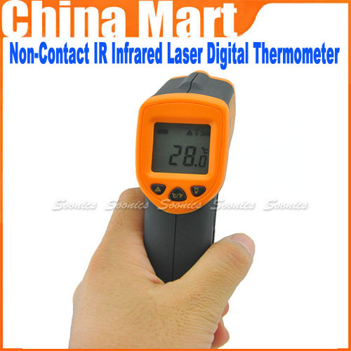Brand New Sale Non-Contact IR Infrared Laser Digital Thermometer(China (Mainland))