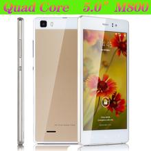 Original 5 pulgadas M800 5MP cámara de doble Sim doble modo de espera teléfono inteligente Android 4.4 Quad Core desbloqueado 3 G / GSM del teléfono móvil WCDMA(China (Mainland))