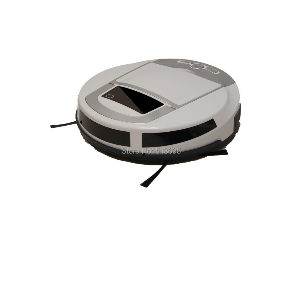 (free shipping)whosales price vacuum cleaning robot,inteligent floor sweeper,lovely mini vacuum(China (Mainland))