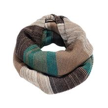 2015 1PC New Arrival Multicolor Green Brown Red Women's Winter Knit Infinity Circle Scarf Over $115 Free Express(China (Mainland))