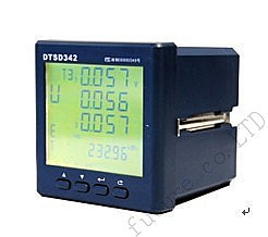 three Phase Electronic Multifunction Energy Meter ,It can measure the voltage,current,kW,kvar,KVA, kWh,kvarh.Free Shipping