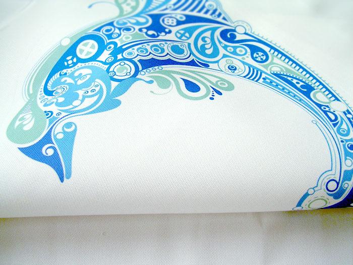 Shark/dolphin, mediterraneo tema, tatto mare animale, casa ...