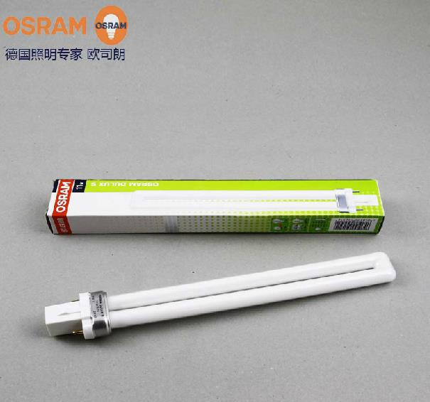 buy osram dulux s 11w compact fluorescent lamp tube lumilux g23 2 pins bulb 11w. Black Bedroom Furniture Sets. Home Design Ideas