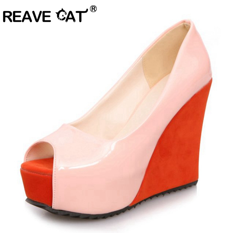 High Quality Hand-made Open Toe High Heel Shoes Women Fashion Wedges Summer Sandals Patent leather Glitter Sweets QL3103(China (Mainland))