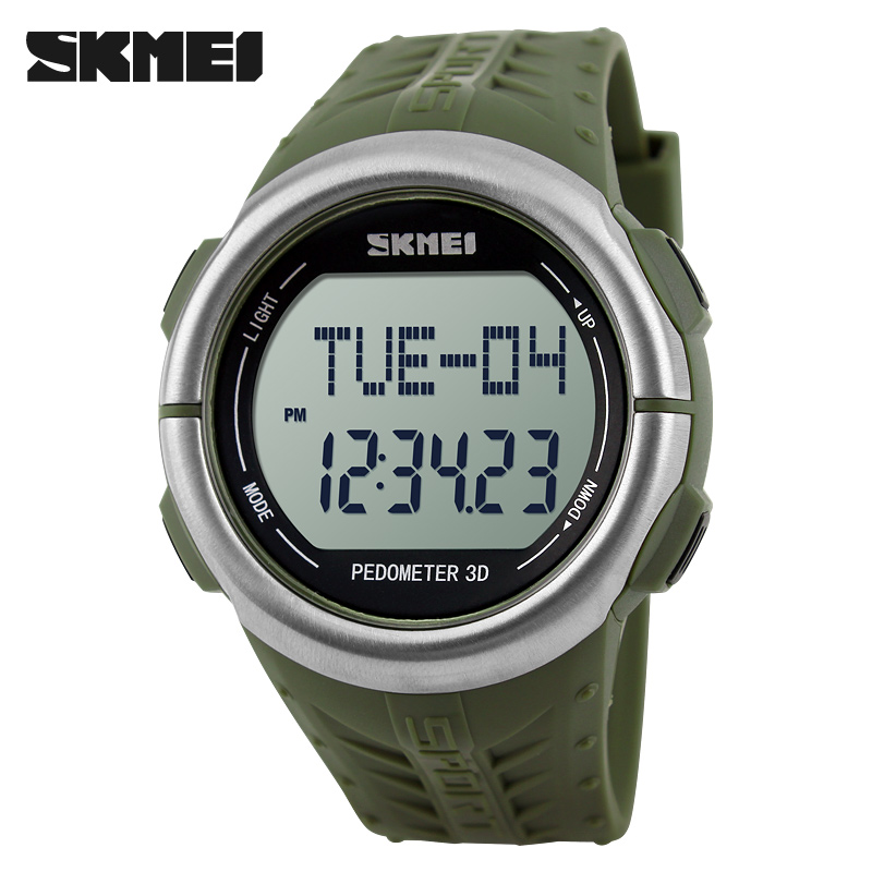 Outdoor Sports Watches Pedometer Heart Rate Monitor Calories Counter Fitness Tracker Men LED Digital Watch Women Wristwatches