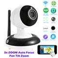HI3518C 1 3 AR0130 low lux CMOS Home IP Dome Camera HD 960P 3X Auto Zoom