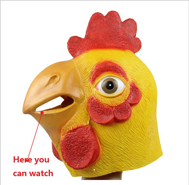 Chicken face mask - photo#14